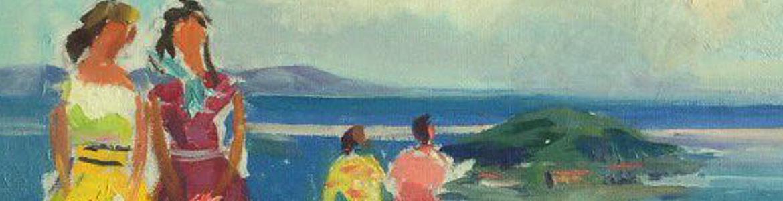Summer Day at Sevan Lake
