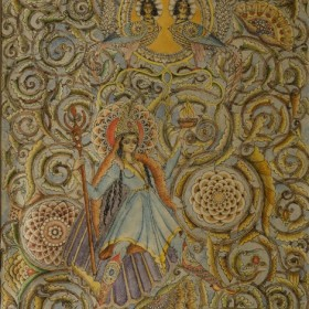 Armenian Fairy Tale Illustration , an art piece by Hakop Kojoyan
