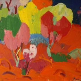 Jajour Landscape, an art piece by Minas Avetisyan
